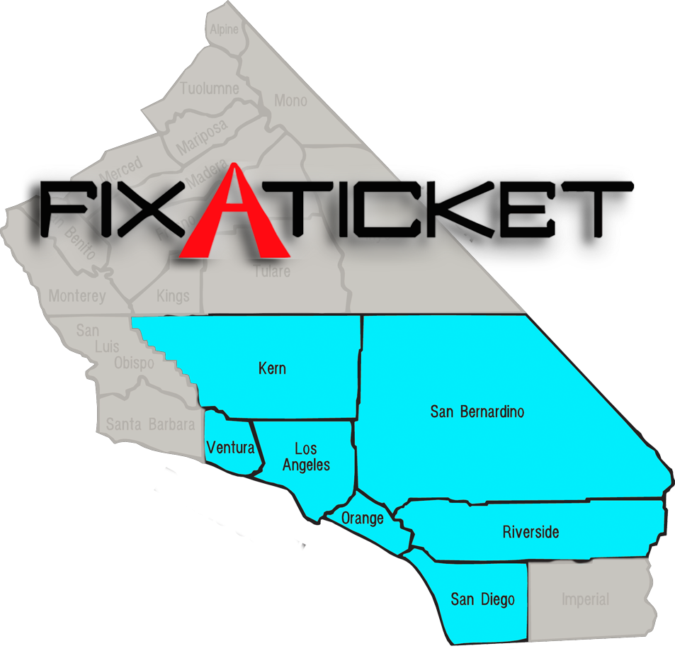 Fix-A-Ticket: Counties We Serve